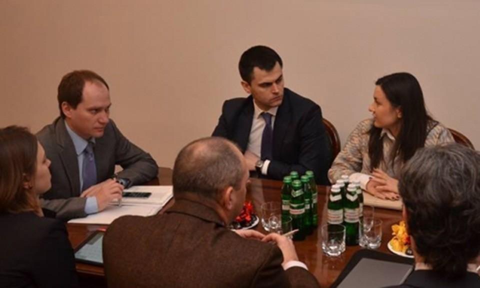 Зустріч з представниками МВФ: ринок неплатоспроможності та банкрутства