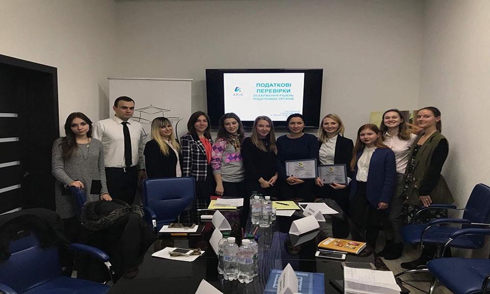 Команда Ario провела майстер-клас з податкової практики для студентів українських Вишів