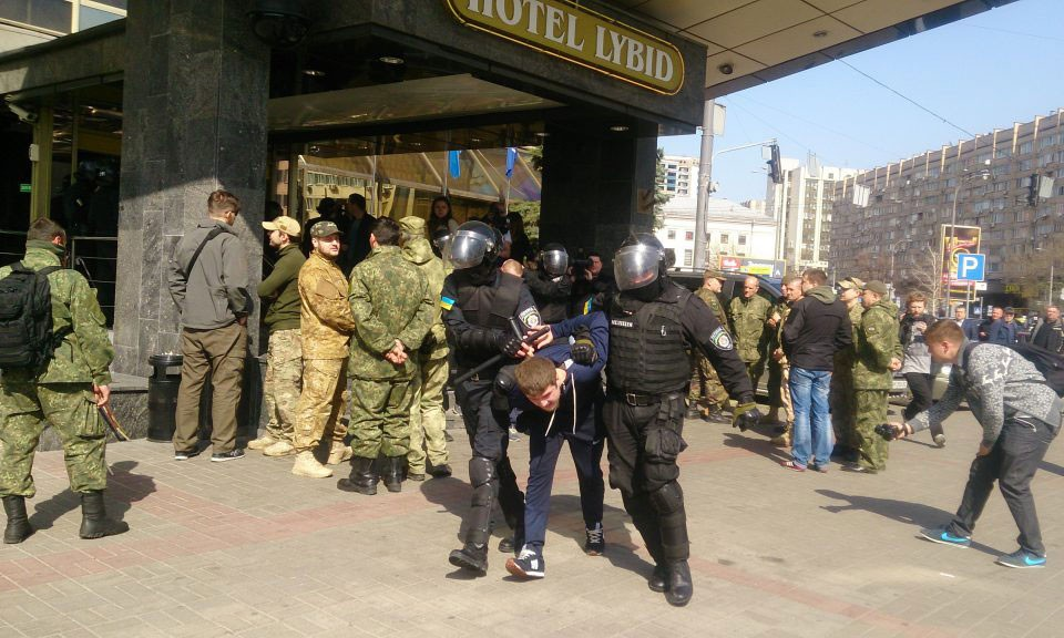 """ILLEGAL TAKEOVER OF """"LYBID"""" HOTEL"""
