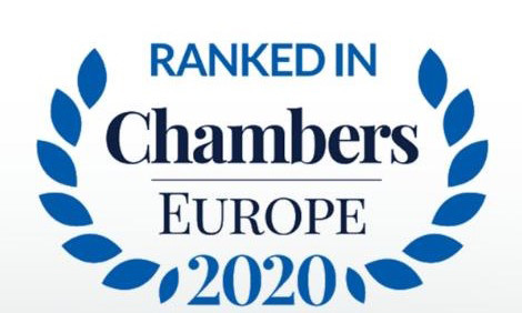 Chambers Europe 2020: Ario Law Firm – серед лідерів